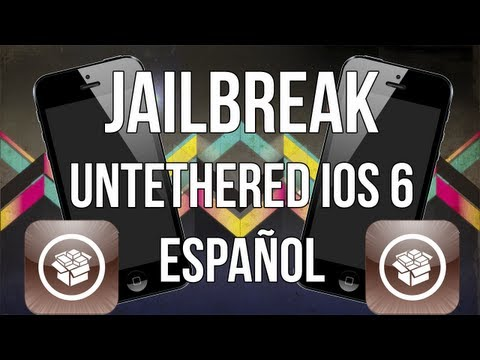 Jailbreak UNTETHERED iOS 6 iPhone, iPod, iPad (6.0, 6.0.1, 6.1, 6.1.2) | Español