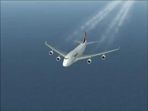 Flight Simulator X Los Angeles to Manila by Philippine Airlines 16 Hr. Flight!