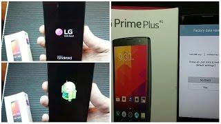 LG Prime Plus Magma travando e lento como aplicar o hard reset de fábrica