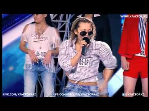 Конкурс пародии 2 тур  X FactorKz3 (прикольно Артур Пирожков )