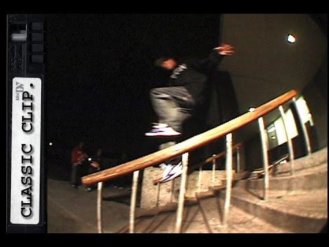 Skater Slips to Splits Classic Skateboard Slams #95