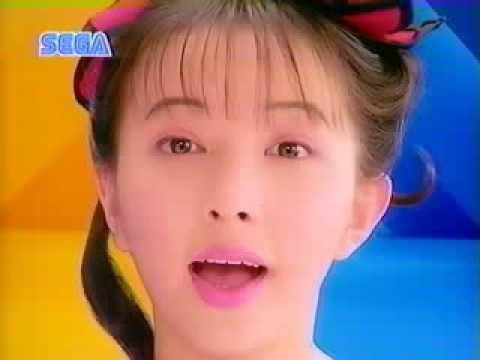 CM PC セガ テラドライブ 高橋由美子「二つの頭脳が同時に動く」 - YouTube