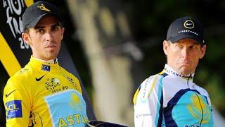 The Lance Armstrong and Alberto Contador Rivalry