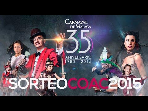 Sorteo COAC 2015 Carnaval de Málaga