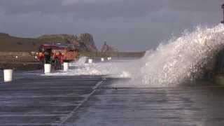 STORM AT HOWTH HARBOUR