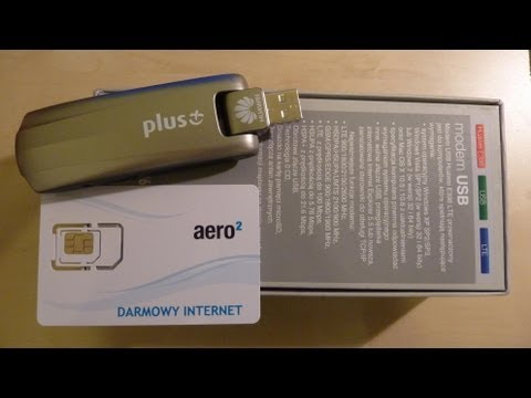 UNBOXING Huawei E398 and Aero2 test. Darmowy Internet.