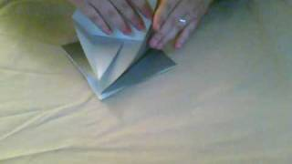 Origami Bird Base Tutorial