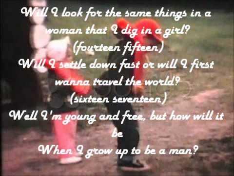 The Beach Boys- When I Grow Up To Be A Man (With Lyrics)