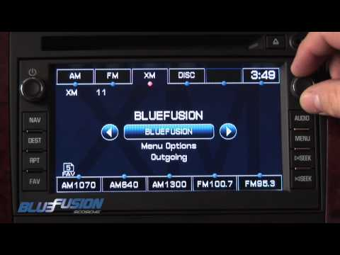 BlueFusion - Bluetooth Handsfree Car Kit for for GM LAN Systems By Scosche