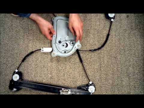 VW New Beetle Convertible Front Left Window regulator repair works