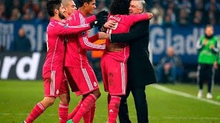 Shalke 04 0-2 Real Madrid Goles Audio Cope 18/02/15 Champions League