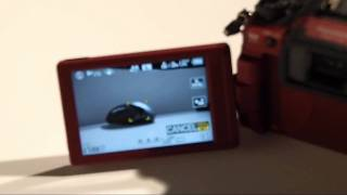 Panasonic Lumix DMC-G2 touch-screen control