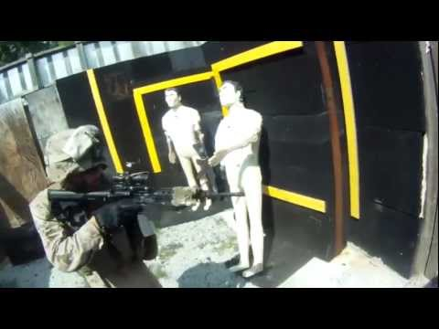 Helmet Cam Footage Of Kill House Close Quarters Combat Training At Fort Pickett, VA Image 1