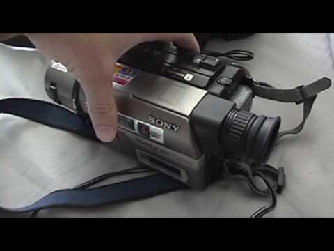 Sony Handycam CCD-TRV43 Hi8 Camcorder overview/test