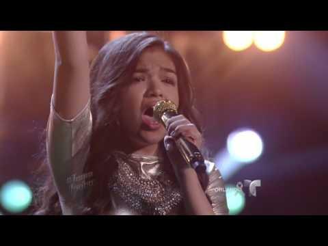 Alejandra regresa y canta 'Hello' de Adele   La Voz Kids 2016