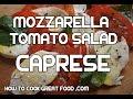 Caprese Salad Recipe - Mozzarella Cheese Tomato Ba…