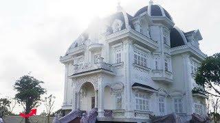 Xôn xao siêu biệt thự trắng muốt gần 2000m² của cụ bà bán rau 78 tuổi ở Hà Tĩnh