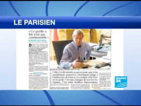 France24 August 10: Sarkozy makes release of French lecturer 'top priority'