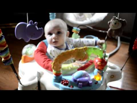 Luv u Zoo Fisher Price Jumperoo review
