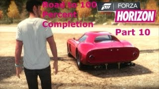 Forza Horizon Road To 100 Percent Completion Part 10   Worst Drift Car?