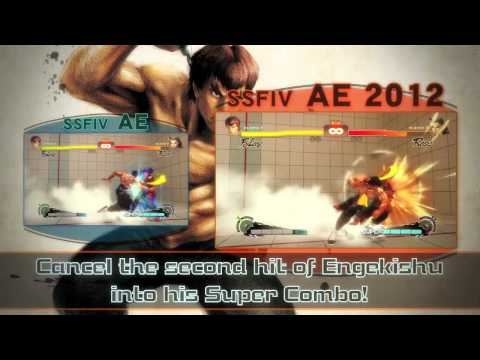 Super Street Fighter IV Arcade Edition: Version 2012 trailer
