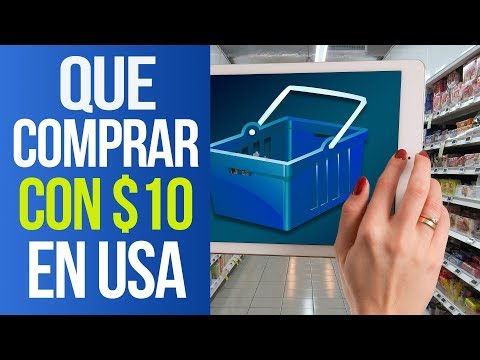 Lo Que PUEDES COMPRAR Con $10 EN USA - What YOU CAN BUY with $10 In The United States