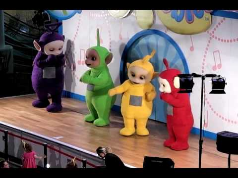 Teletubbies Dancing Live in Manchester England
