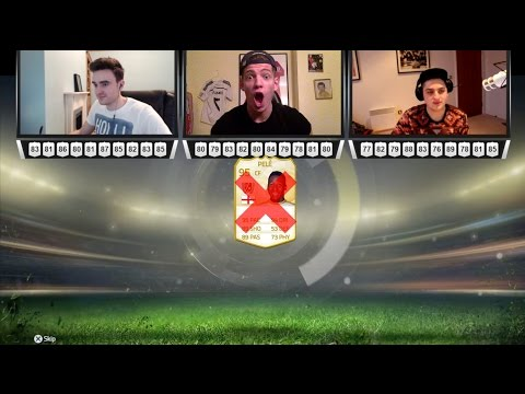 3 WAY LOTTO!!! FIFA 15 INSANE PACK OPENING - WHITE PELE DISCARD??