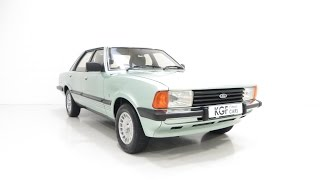 A Nostalgic Ford Cortina Mk5 2.0 Ghia Auto in Wonderful Order.  SOLD!