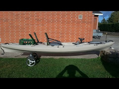 WEST MARINE Pompano 120 Sit-On-Top Angler Kayak