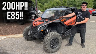 My Can Am X3 Turbo R gets INSANE (E85 + Bolt Ons)