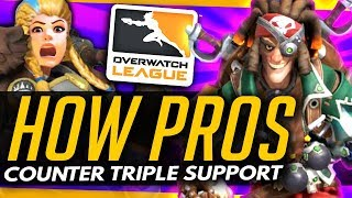 Overwatch | How The Pros Counter BRIGITTE TRIPLE SUPPORT!
