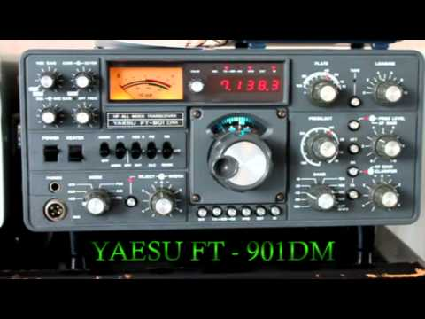 Yaesu FT901- DM. Transceiver & FR101 Receiver