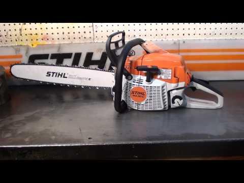 The chainsaw guy shop talk Testing Stihl, Husqvarna Auto Tune chainsaws here to stay