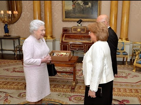 An Audience with Her Majesty Queen Elizabeth II at Buckingham Palace