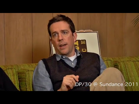 DP/30@Sundance:  Cedar Rapids, director Miguel Arteta, actor Ed Helms