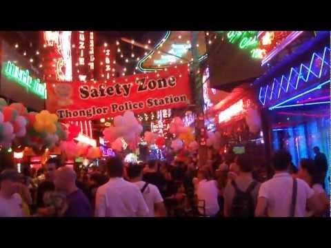 New Year's Eve at Soi cowboy, Bangkok, Thailand[HD]