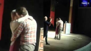 قبلات و أحضان ساخنة في مهرجان فاس للمسرح الجامعي لدورته 11 بالمركب الثقافي الحرية-فاس