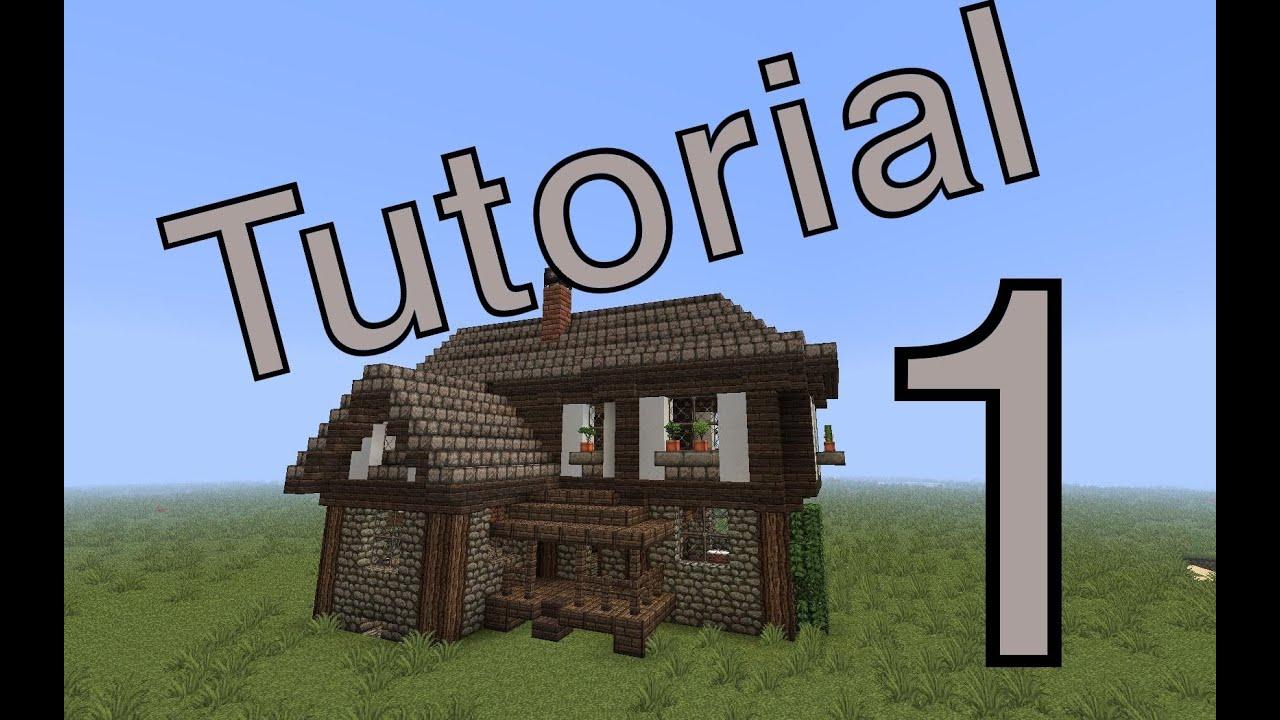minecraft tutorial mittelalter haus 1 deutsch youtube. Black Bedroom Furniture Sets. Home Design Ideas