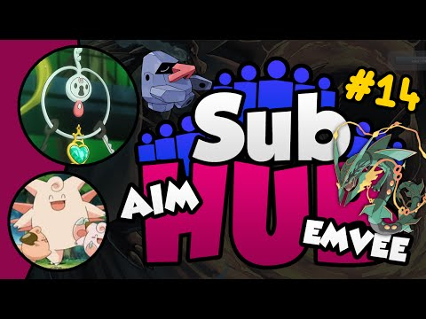 Sub Hub S2 Episode 14 w/ PokeaimMD & Emvee - Pokemon ORAS ANYTHING GOES Showdown Live