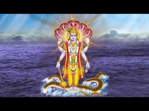 Sri Vishnu Sahasranamam - Shantakaram Bhujagasayanam Shlok - Popular Vishnu Songs