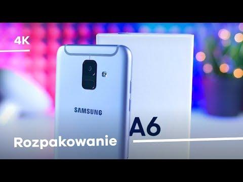 Samsung Galaxy A6 Rozpakowanie + Konfiguracja [4K]