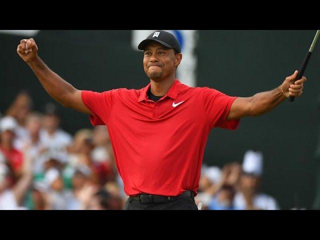 Tiger Woods remarkable comeback