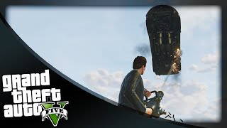 GTA 5 Funny Moments - 'I SHALL NOT MOVE!' (GTA 5 Online Funny Moments)