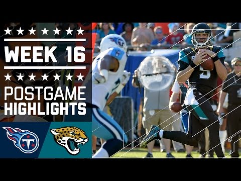 Ans Vs Jaguars Nfl Week 16 Game Highlights