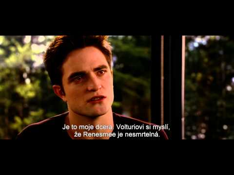 Twilight SÁga: RozbŘesk - 2. ČÁst (twilight Saga Breaking Dawn Part 2) - český Trailer video