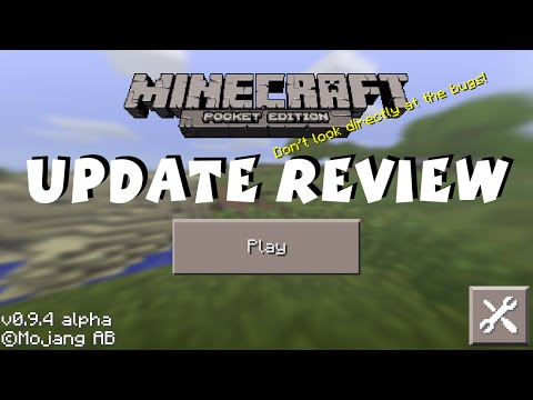 [0.9.4] Minecraft Pocket Edition Update Review iOS / Android / Kindle
