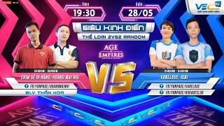 🔴[Trực tiếp AOE 28-05-2019] Siêu Hót Chim Sẻ Đi Nắng, Hoàng Mai Nhi vs BiBi + VanLove | 2vs2 Random