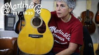 Martin OMJM - Diane Ponzio at Guitar Village