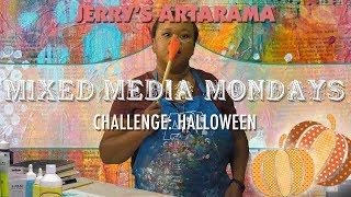 Mixed Media Monday - Spooky Halloween Special